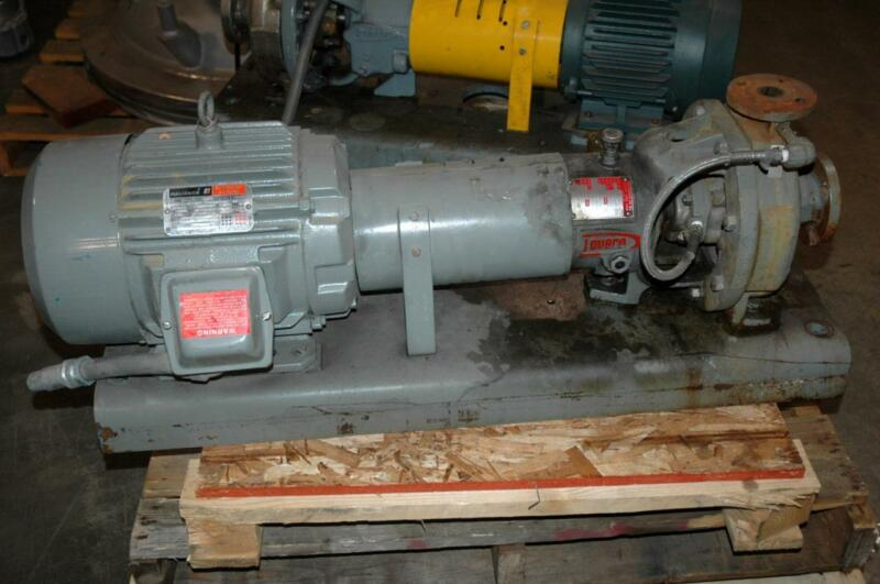 "Durco FlowServe MK3 MKIII Centrifugal Pump 1K1.5x1"" Ductile Iron 7.5 HP"