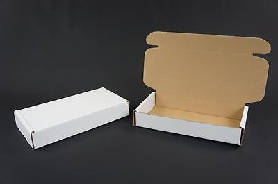 500 White Postal Cardboard Boxes Mailing Shipping Cartons Small Parcel Mail AP10