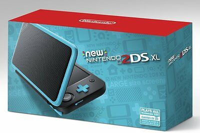 New Nintendo 2Ds Xl Black   Turquoise