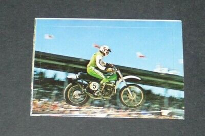 #240 SMITH KAWASAKI 250 CC MOTO-CROSS AUTO MOTO SPORT 1976 INTERIMAGE PANINI for sale  Shipping to Canada