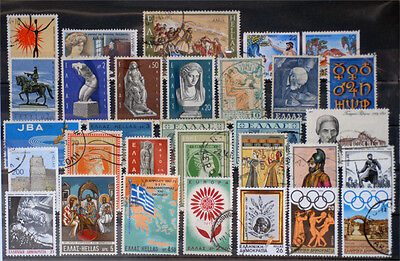 Greece-Lot stamps (ST407)