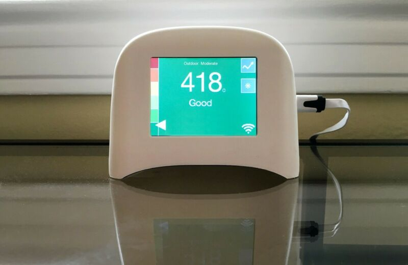 Air Quality Monitor - Speck PM2.5 with USB, Optical Detection,0.5 – 3 microns