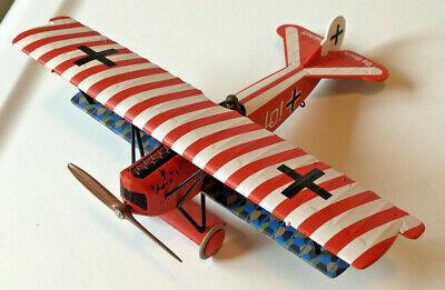 Corgi German Fokker DV II Diecast Model Airplane WWI, Ernst Udet, Jasta 4