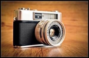 c1963 Yashica Minister III Rangefinder Camera - Working- Japan