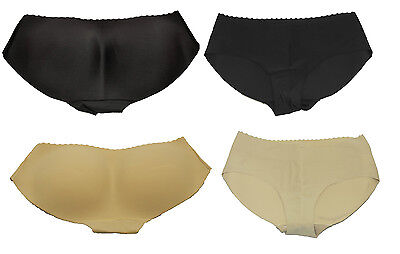 Slip Push-up Po gepolstert Polster Unterhose Panty Hotpants Slip Hipsters T1071 (Panty Gepolsterte)