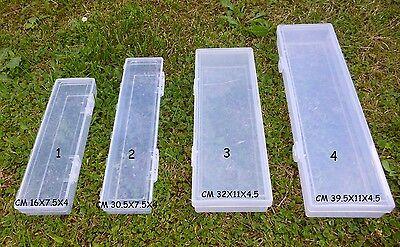 scatola vuota porta accessori da pesca galleggianti esche artificili cassetta