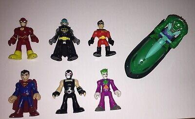 Fisher-Price Imaginext DC Super Friends Batman Bane Robin Joker Flash Superman
