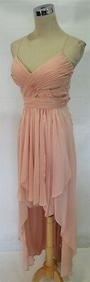 NWT HAILEY LOGAN $120 Paradise Pink Prom Party Gown 7