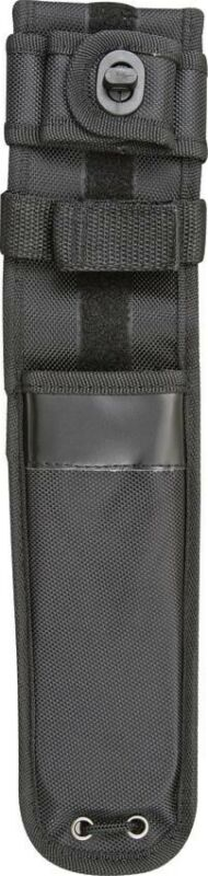 """Black Nylon Sheath For Straight Fixed Tactical Knife Up To 7"""" Blade SH1016"""