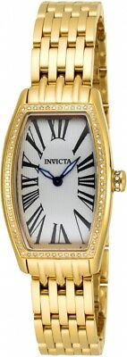 New Womens Invicta 17805 Tonneau Lady Donna Swiss Diamond 0.64ctw Watch
