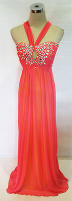 City Triangles Guava Party Prom Ball Gown 7    110 Nwt