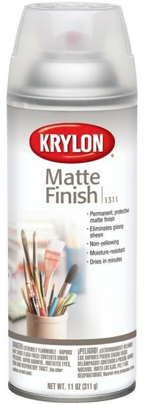 Krylon Matte Finish Acrylic Coating Aerosol Spray 11 oz can