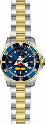 Invicta Disney Limited Edition Mickey Mouse Quartz Blue Dial Men's Watch 29671