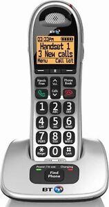 BT 4000 SINGLE BIG BUTTON DIGITAL CORDLESS TELEPHONE WITH SPEAKER PHONE