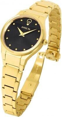 New Womens Invicta 23279 Gabrielle Union Gold Tone Bracelet Watch