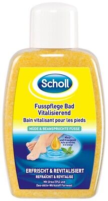 Scholls Fußbad (Scholl FussPflege Bad Vital Fußbad Vitalbad Kristallsalz Fußpflege Pediküre 275g)