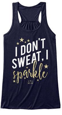 Custom-made I Dont Sweat, Sparkle - Don