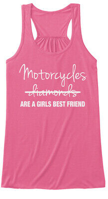 Motorcycle Gear Best Friend S - Motorcycles Diamonds Bella Flowy Tank