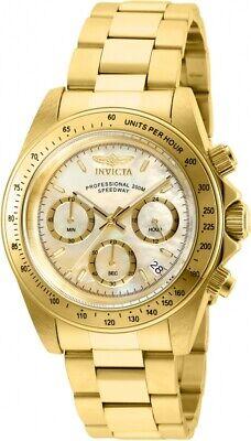Invicta Men's 28669 Speedway Quartz Chronograph Gold Dial Watch