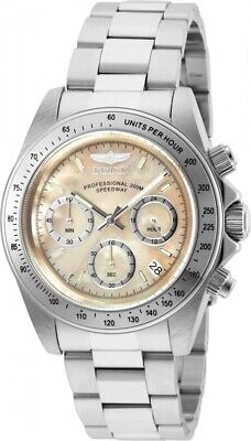 Invicta Men's 28666 Speedway Quartz Chronograph Gold Dial Watch
