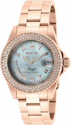 Invicta Women's Angel Limited Edition 40mm SS Rose Tone Swiss Quartz Watch