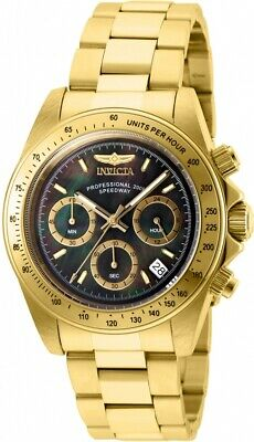 Invicta Men's 28670 Speedway Quartz Chronograph Black Dial Watch