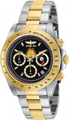 New Mens Invicta 24890 Garfield Speedway Chronograph Bracelet Watch