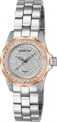 New Womens Invicta 14528 1.02ctw Morganite & 0.62ctw Diamond Pave Bracelet Watch