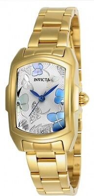 New Womens Invicta 23219 Baby Lupah Gold Tone Bracelet Watch