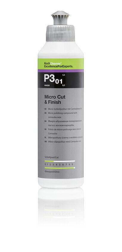 Koch Chemie Micro Cut Finish P3.01 MicroSchleifpolitur mit Carnaubawachs, 250