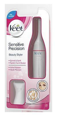 VEET Sensitiv Precision Beauty Styler f. Bikinizone Achseln Gesicht PZN 11859412