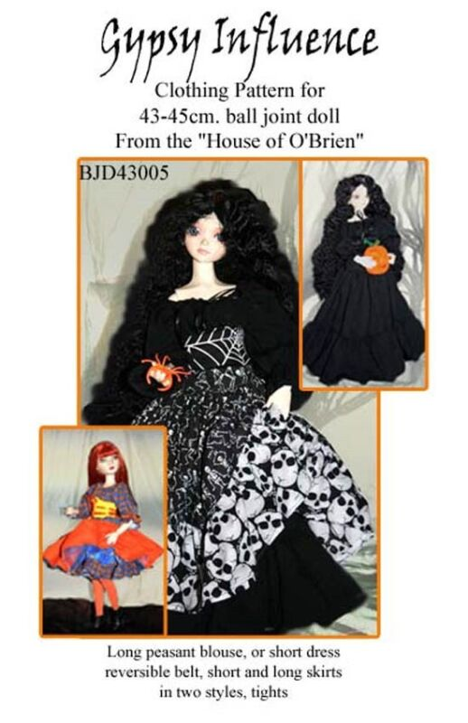Gypsy Influnce pattern 4 Goodreau, MSD, Dollffie,