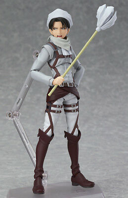 [FROM JAPAN]figma EX-020 Levi Cleaning ver. Attack on Titan Max Factory