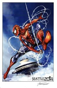 2014-ECCC-SPIDERMAN-ART-PRINT-BY-JAMIE-TYNDALL-SIGNED-11x17