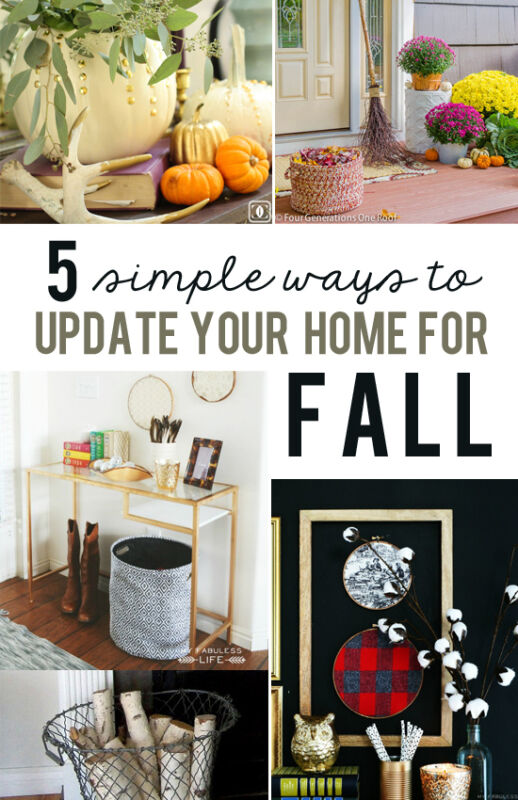 5 Ways To Update Your Home For Fall Ebay