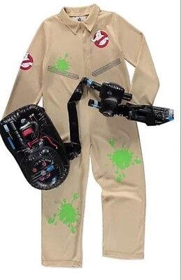 Ghostbusters Fancy Dress Outfit-Costume New 5-12 Years NEXT DAY DELIVERY AVAIL - Ghostbusters Outfit Kids