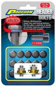 Proform 66756 Locking Header Bolts - Set of 16 - 1.00