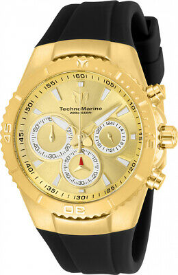 Technomarine TM-218035 Manta Women's 40mm Gold-Tone Gold Dial Watch
