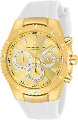 Technomarine TM-218037 Manta Women's 40mm Gold-Tone Gold Dial Watch