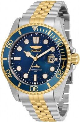 Invicta Pro Diver Quartz Blue Dial Two-tone Men's Watch 30616