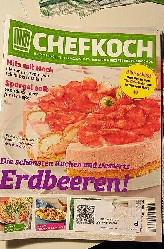 Chefkoch Kuchen Rezepte leichte Küche Sommer Grillen Kochen