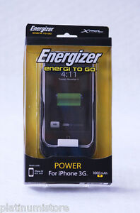 Energizer AP1000 Protective Case Built-In Rechargeable Battery for iPhone 3G/3GS