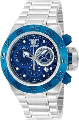 New Unisex Invicta 10150 Subaqua Noma IV Swiss Quartz 45mm Stainless Steel Watch