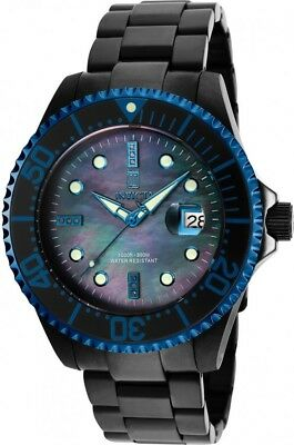 New Invicta Men's 47mm Grand Diver J.Taylor Limited Ed. Automatic Black MOP Dial