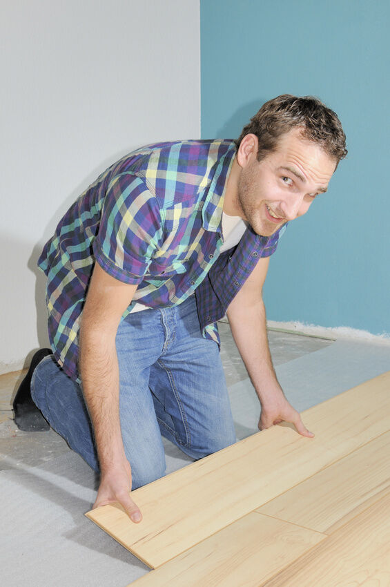 bei welchem untergrund ist es nicht m glich laminat zu. Black Bedroom Furniture Sets. Home Design Ideas