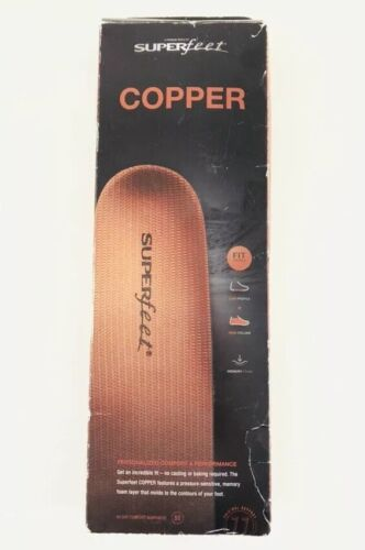 Superfeet Copper DMP Insole: Superfeet Insoles