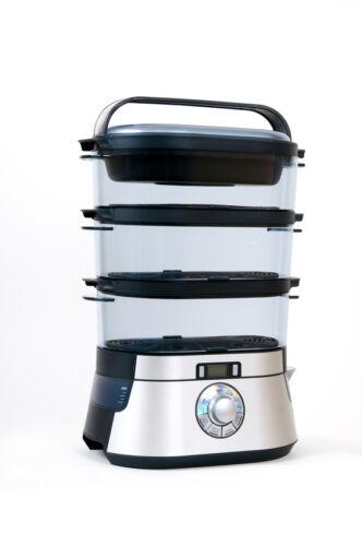 Da bleiben die Vitamine, wo sie sind: schonende Speisenzubereitung im Dampfgarer