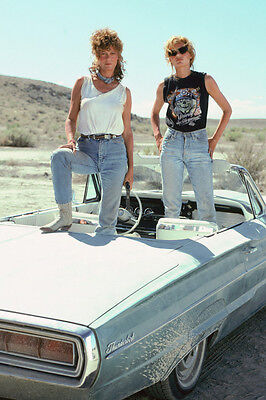 THELMA AND LOUISE SUSAN SARANDON GEENA DAVIS POSTER