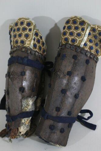 """TETSU SABIJI 5 HON TSUTSU SUNEATE of YOROI (armor) : EDO : 12.2 × 13.4 """""""