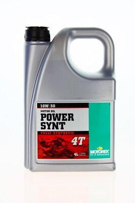 Motorex Power Synt 4T 10W/50 4L Motoröl Vollsynthetisch Motorrad